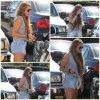 17/02 : Miley allant a un studio a Los Angeles
