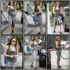 24/03 : Miley à une station essence à West Hollywood
