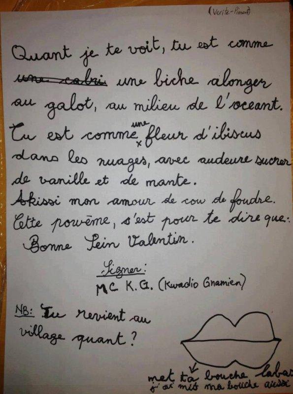 quand la langue française souffre !!!!