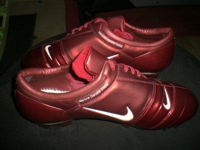worn match boots figo madrid !!!!!