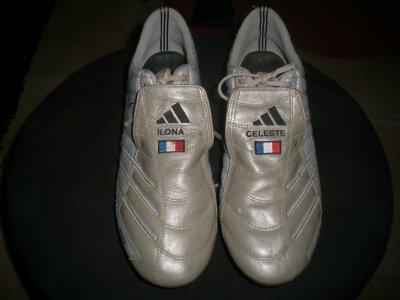 worn match boots djibril cissé !!!