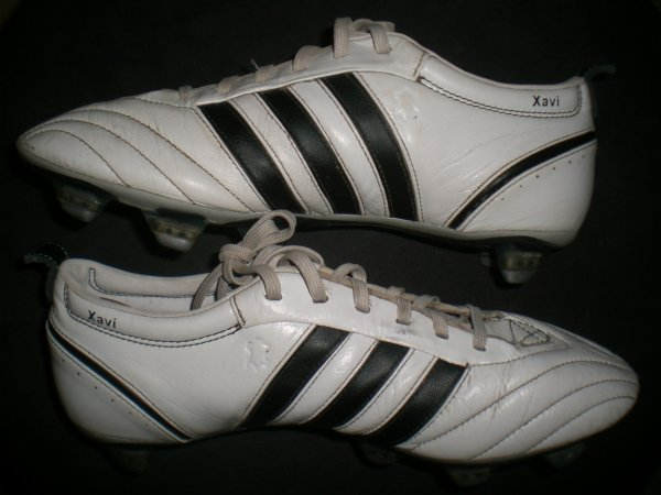 worn match boots xavi