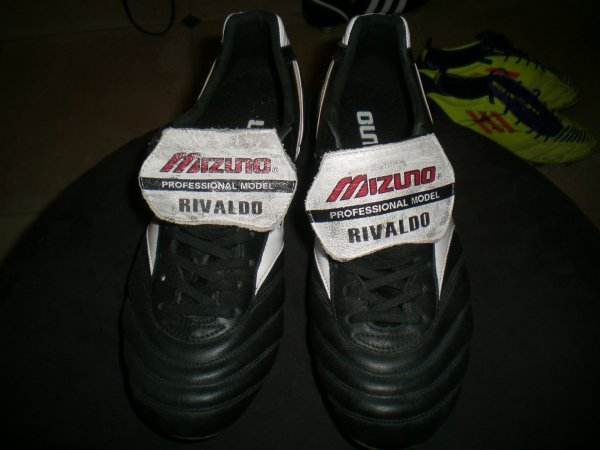 worn match boots rivaldo ballon d'or 1999