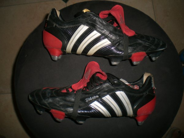 worn match boots zidane ballon d'or 1998
