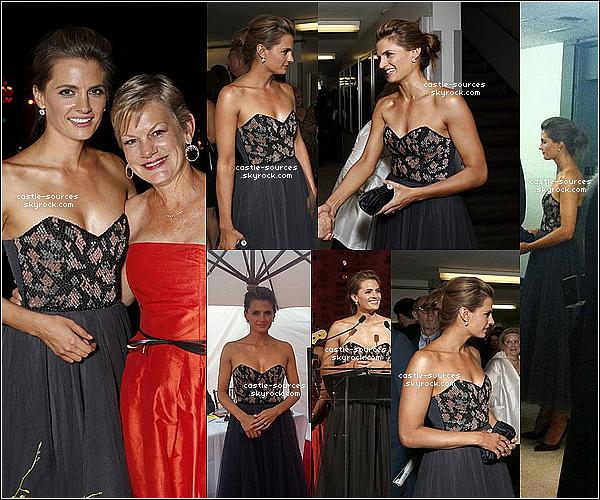 Stana Katic, était présente au gala d'ouverture de l'Opéra de Los Angeles !  Le Samedi 15 Septembre 2012