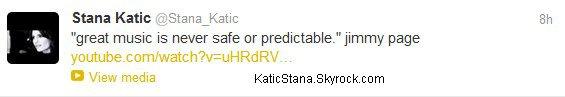 Stana Katic.  Twitter !