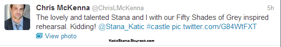 Stana Katic    Twitter       Stana Katic   Photo coup de coeur - Children's Hospital Los Angeles