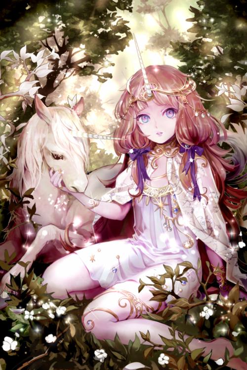 la reine des licorne