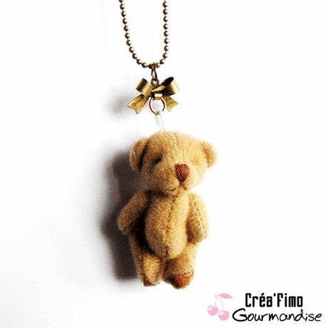 Collier Teddy Bear