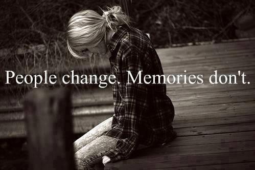 les gens changent, mais pas les souvenirs qui y sont attachés...