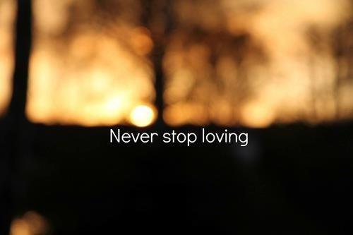un vrai amour ne s'éteint jamais...