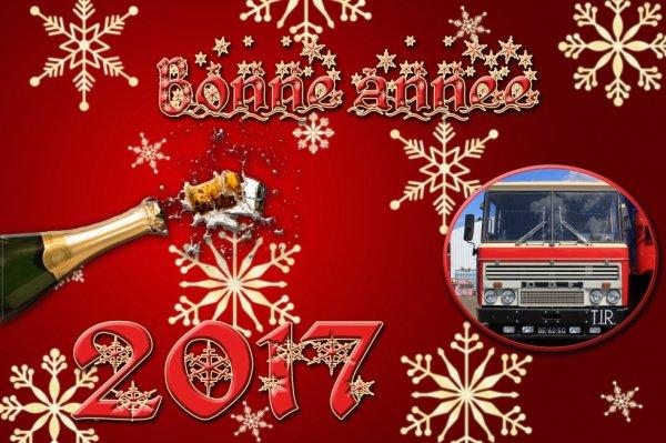 Bonne & Heureuse année à tous.