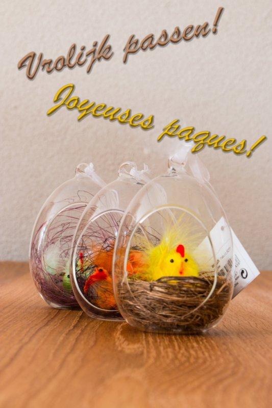 Bonnes Pâques à tous!