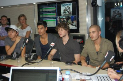 The Wanted en France a Nrj