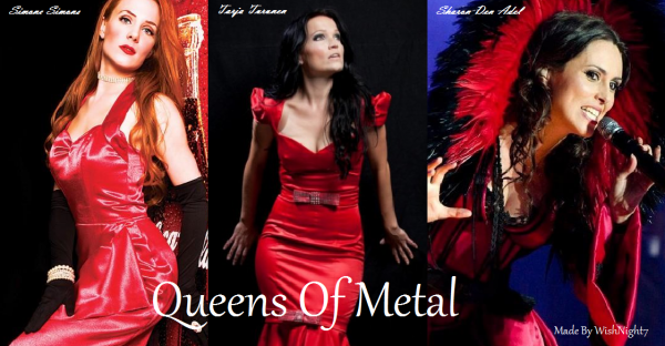 Red Metal Ladies !