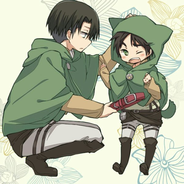 Attack on titan eren x rivaille