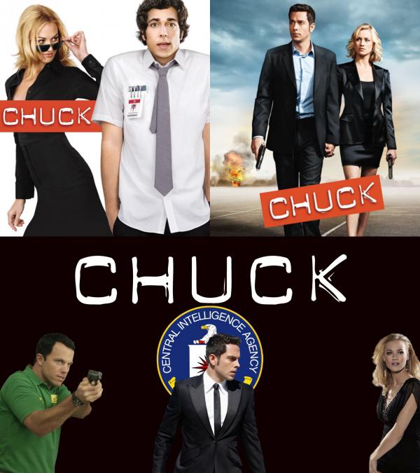 """Pardon de retard, Bon anniversaire pour la série """"Chuck"""" 6 ANS"""