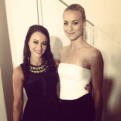 Yvonne a posté un photo d'elle et avec sa meilleure amie Mekenna sur son instagram