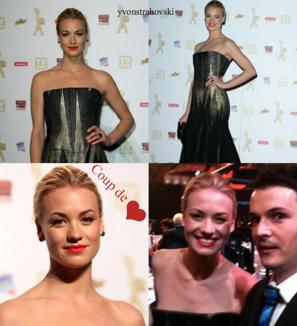 Flashback: Le 2 mai 2010, Yvonne a été à Logie awards à Melbourne, Australie