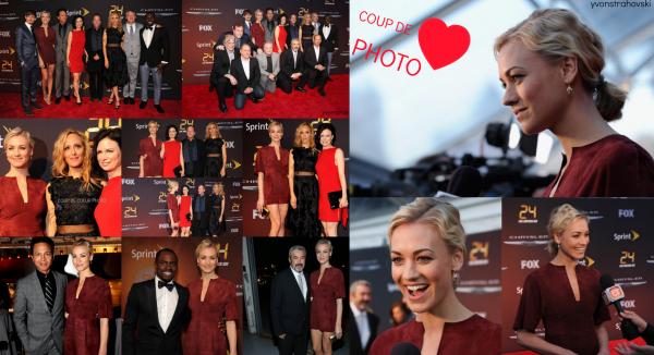 Le 2 mai 2014, Yvonne a été à la première de 24 heures à New York (Perso:Superbe !)