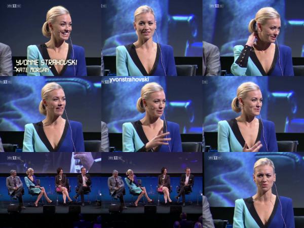 Le 5 mai 2014, après l'event, Yvonne a été à l'interview avec les acteurs de 24 heures