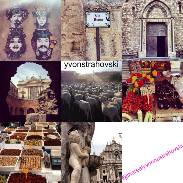 Même jour, au soir, Yvonne a continué de parler ou prendre les photos avec ses fans à Italie et des ceraintes photos sont pris par des fans puis ont posé sur leurs compte d'Instagram