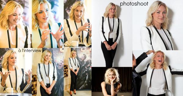 """Le 22 septembre 2014, Yvonne a été à l'interview """"GOLD104.3 Brig & Lehmo's"""", à Australie"""