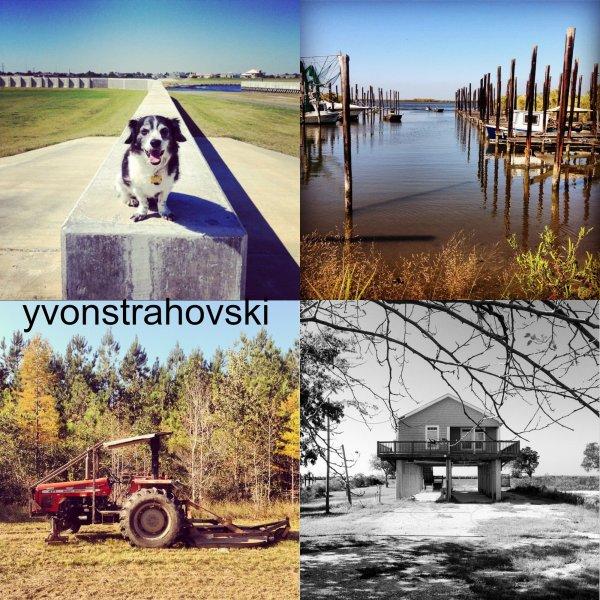 Voici les photos que Yvonne a posté pècedement sur son compte d'Instagram lors elle est au tournage à Nouvelle-Orléans