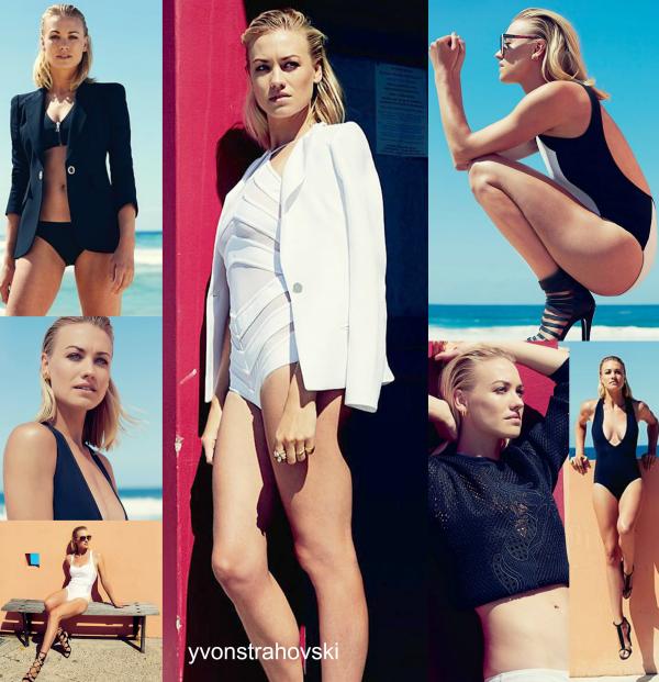 Le 14 janvier 2015, Yvonne a été à Australie pour photoshoot GQ de mois février