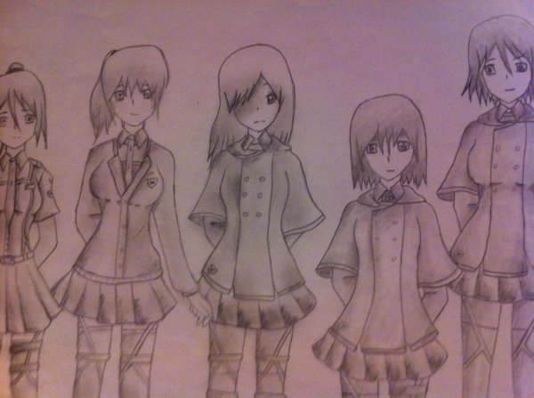 AoT ~ female - Uniform