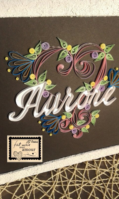tableau quilling