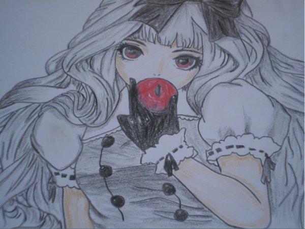 Vampire drewing by me