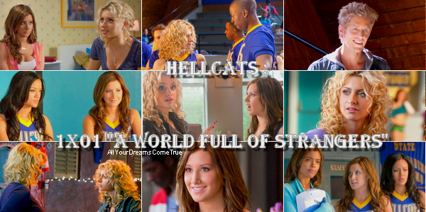 "Hellcats : 1x01 ""A World Full of Strangers"""