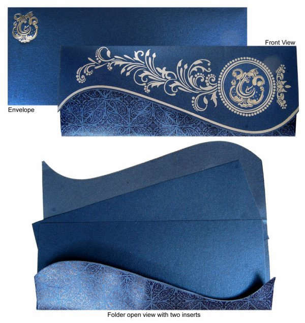 Dream Wedding Card Presents Designer Indian Invitation