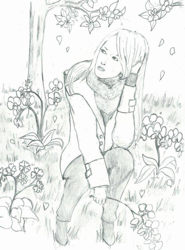 le portrait d'une amie