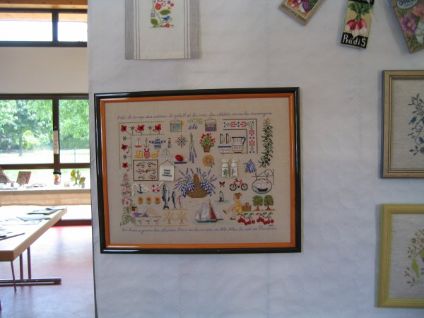 Broderie/exposition