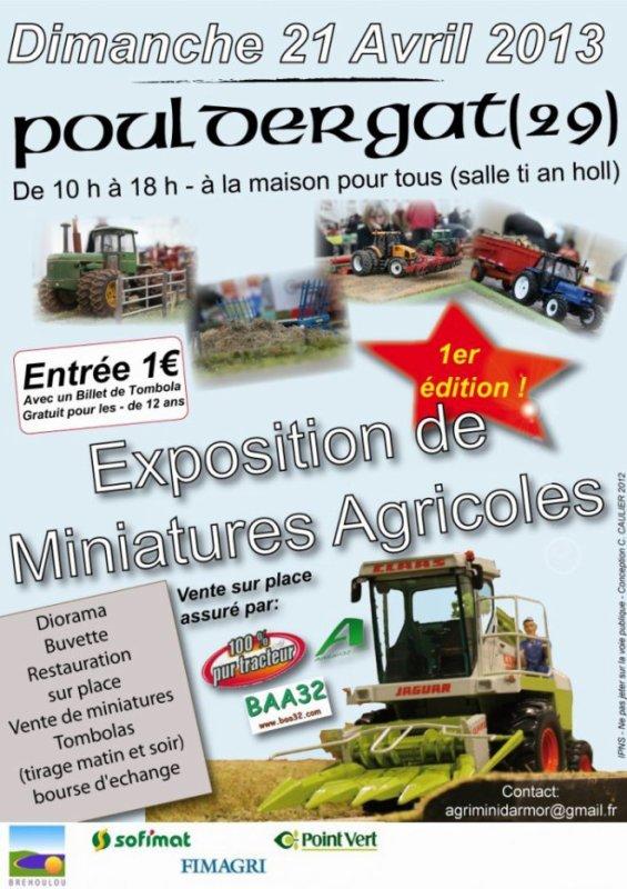 exposition miniatures , dioramas ..