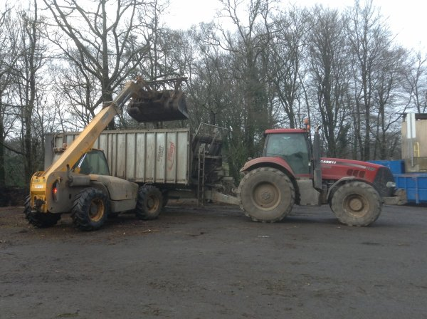 Transport compost