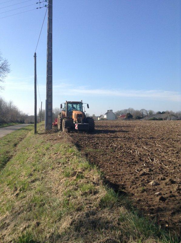 Prépa terre à maïs
