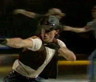 Cowboys sur glace !