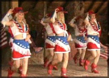 Rodeo Girls danses sur Say Hello