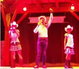 Danseurs country au Golf de St TROPEZ