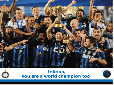 FIFA CWC 2010: Mazembe 0-3 Inter. Thanks, lads!