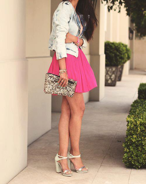 Fashion: Pink Skirt