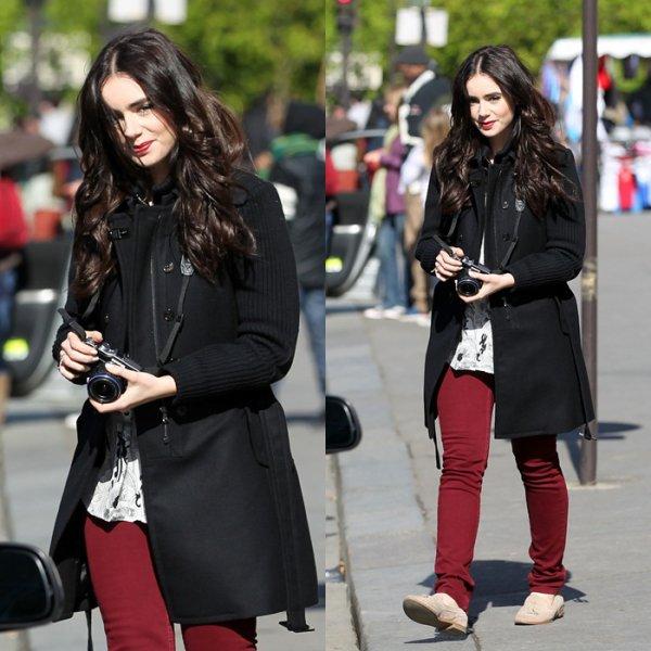03/09/2012: Flashback de Lily se promenant dans les rues de Paris en 2011 et 2012. TOP/BOF/FLOP? Pour moi c'est un top pour chacune de ses tenues!
