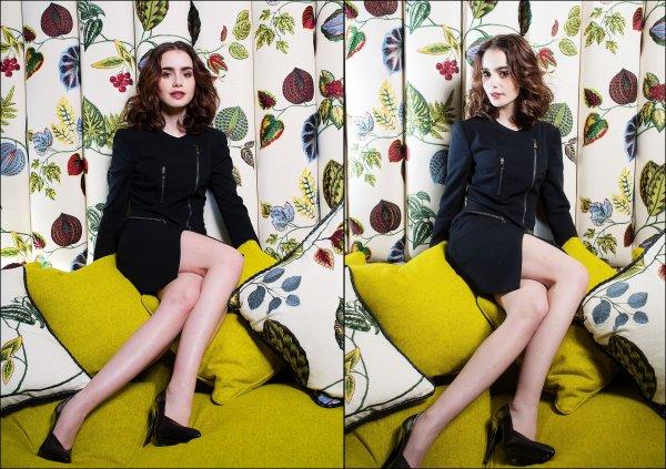 """Nouveaux photoshoot de Lily pour """"Times UK"""""""