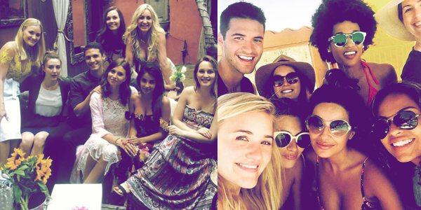 EVENT - Le 2/05/15 Lei' était à la Aly Michalka's Bachelorette Party