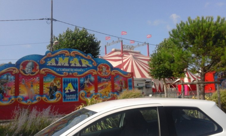 cirque amar 2017 a pornichet