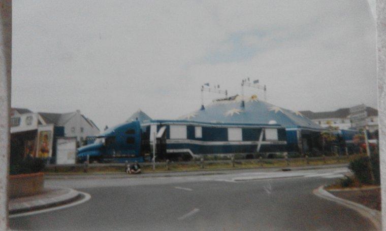 vielle photo de cirque
