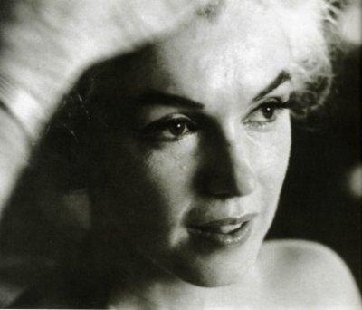 Marilyn, the last sitting.